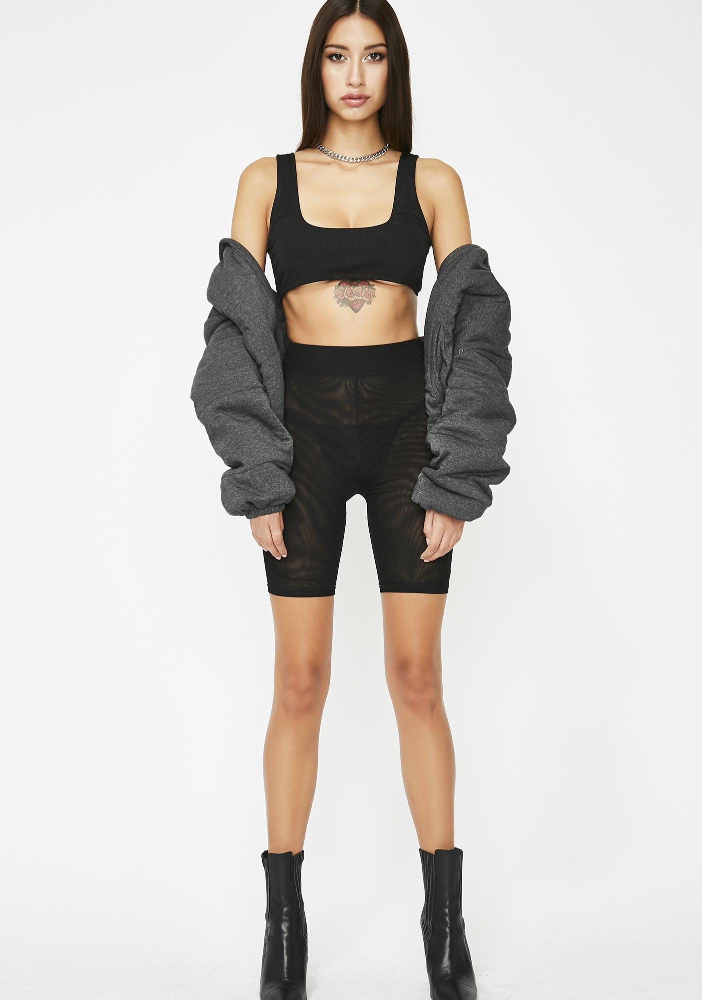 'Bout That Bass Biker Shorts
