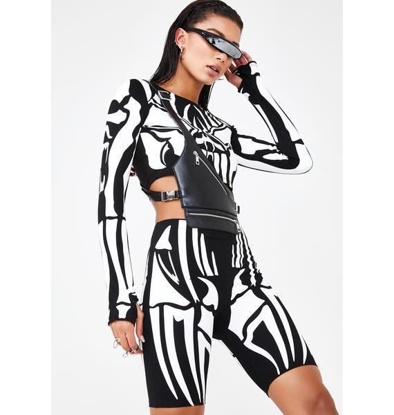Club Exx Soul Reaper Biker Shorts