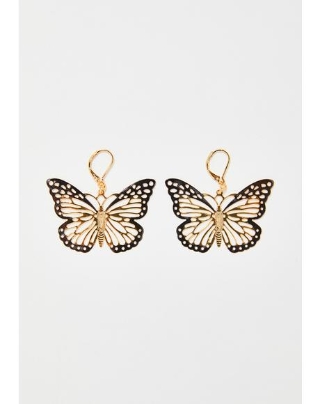 Dream BB Butterfly Earrings