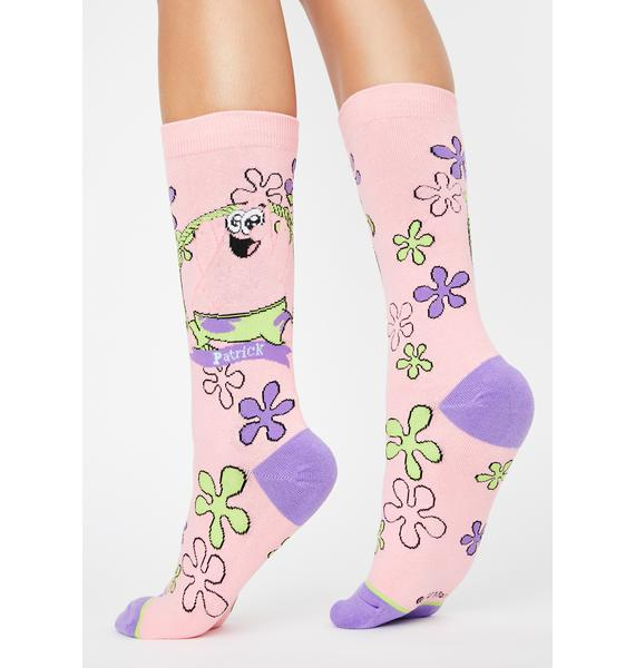 Cool Socks Baby Patrick Crew Socks