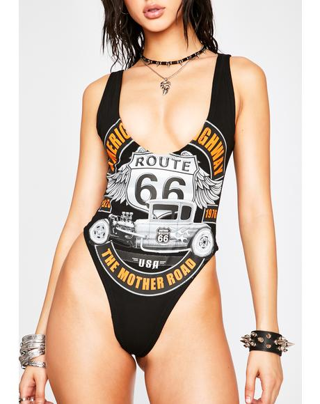 Route 66 Tank Bodysuit
