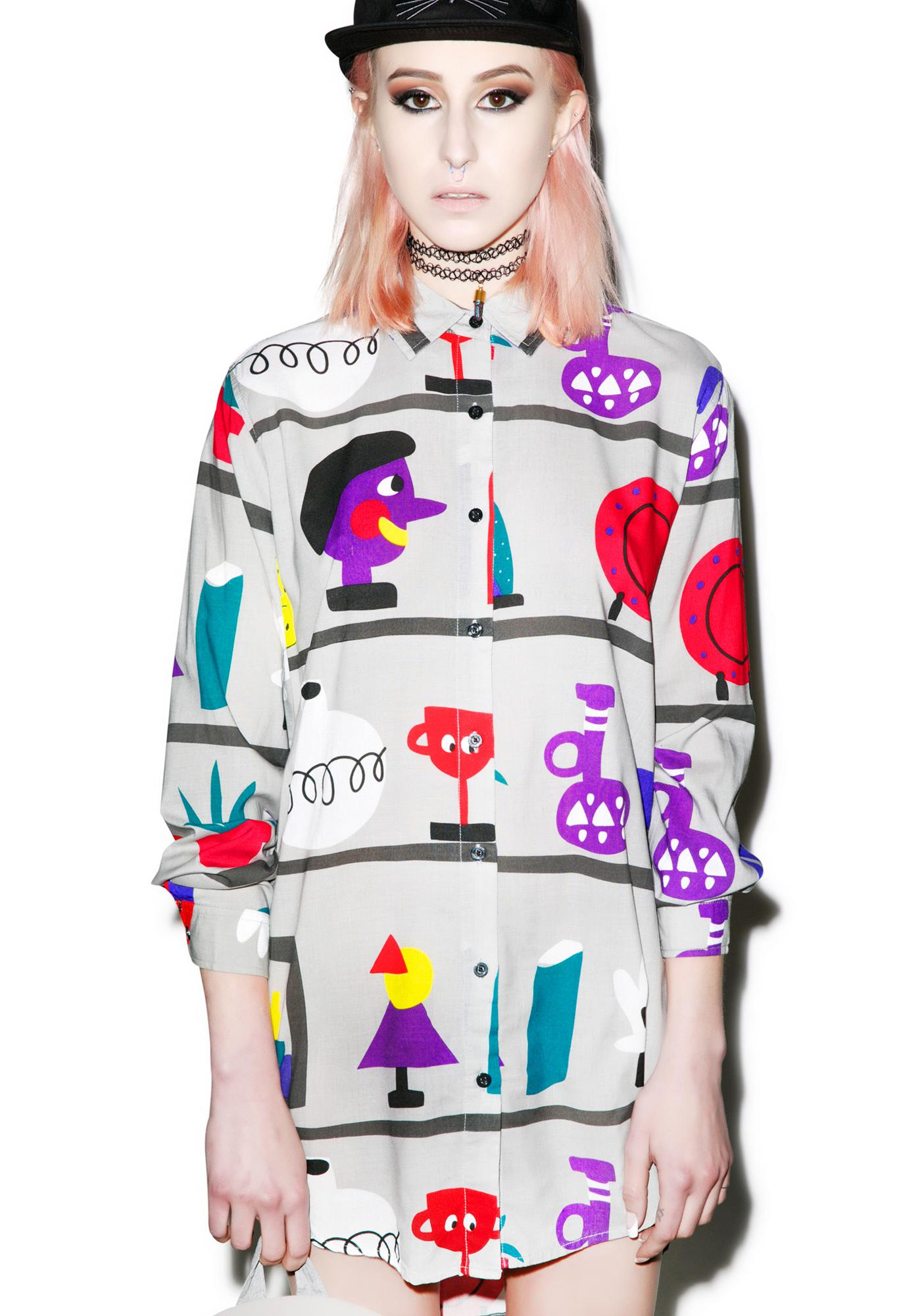 Lazy Oaf Shelf Life Shirt
