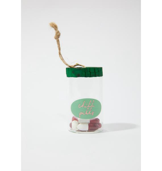 Take A Chill Pill Canister Ornament