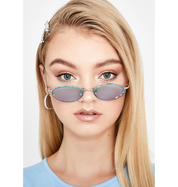 Replay Vintage Sunglasses Berry Just A Girl Flower Sunglasses