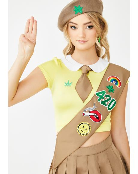 Lil Miss Pot Brownie Costume Set