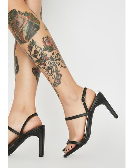Night Viral Babe Strappy Heels