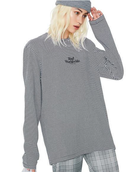 Royal LS Stripe Shirt