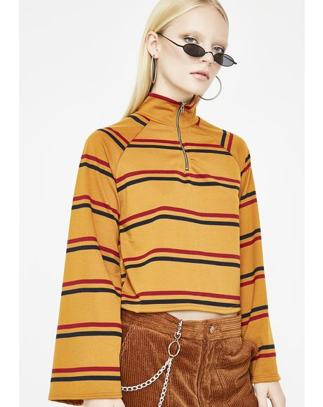 Bae Season Stripe Top
