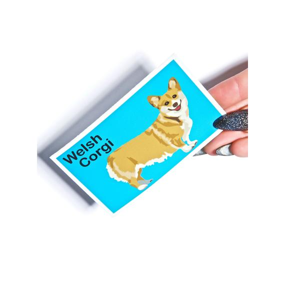 Welsh Corgi Sticker