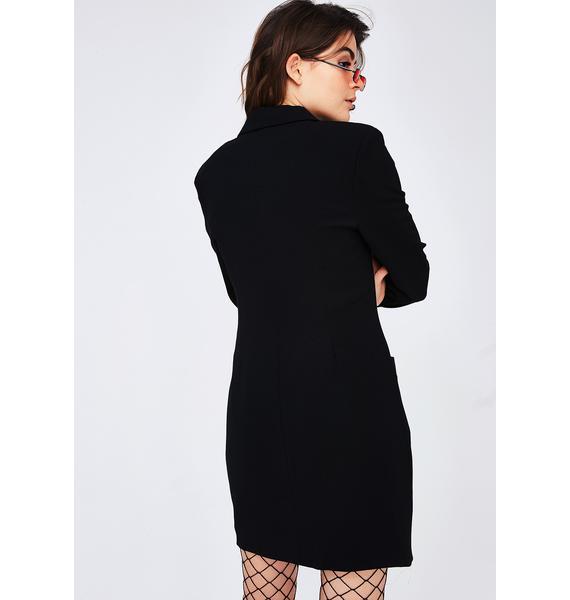 Business N' Pleasure Blazer Dress