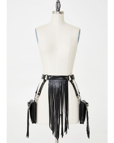 Desert Dancer Fringe Belt Bag