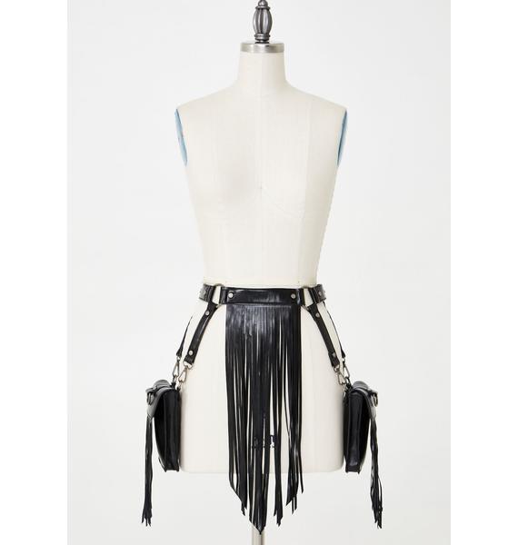 Club Exx Desert Dancer Fringe Belt Bag