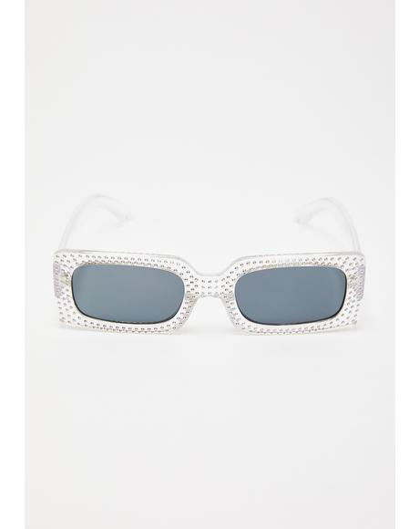 Badabling Badaboom Rhinestone Sunglasses