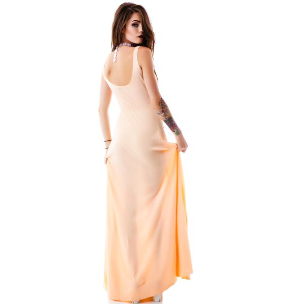 Wildfox Couture Straight Sugar Love Shipwrecked Maxi