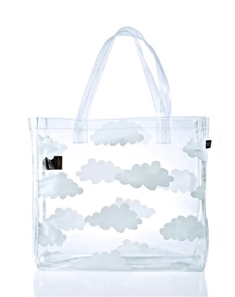 Clear Cloud Tote
