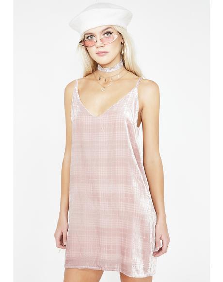 Sugar Vision Velvet Dress