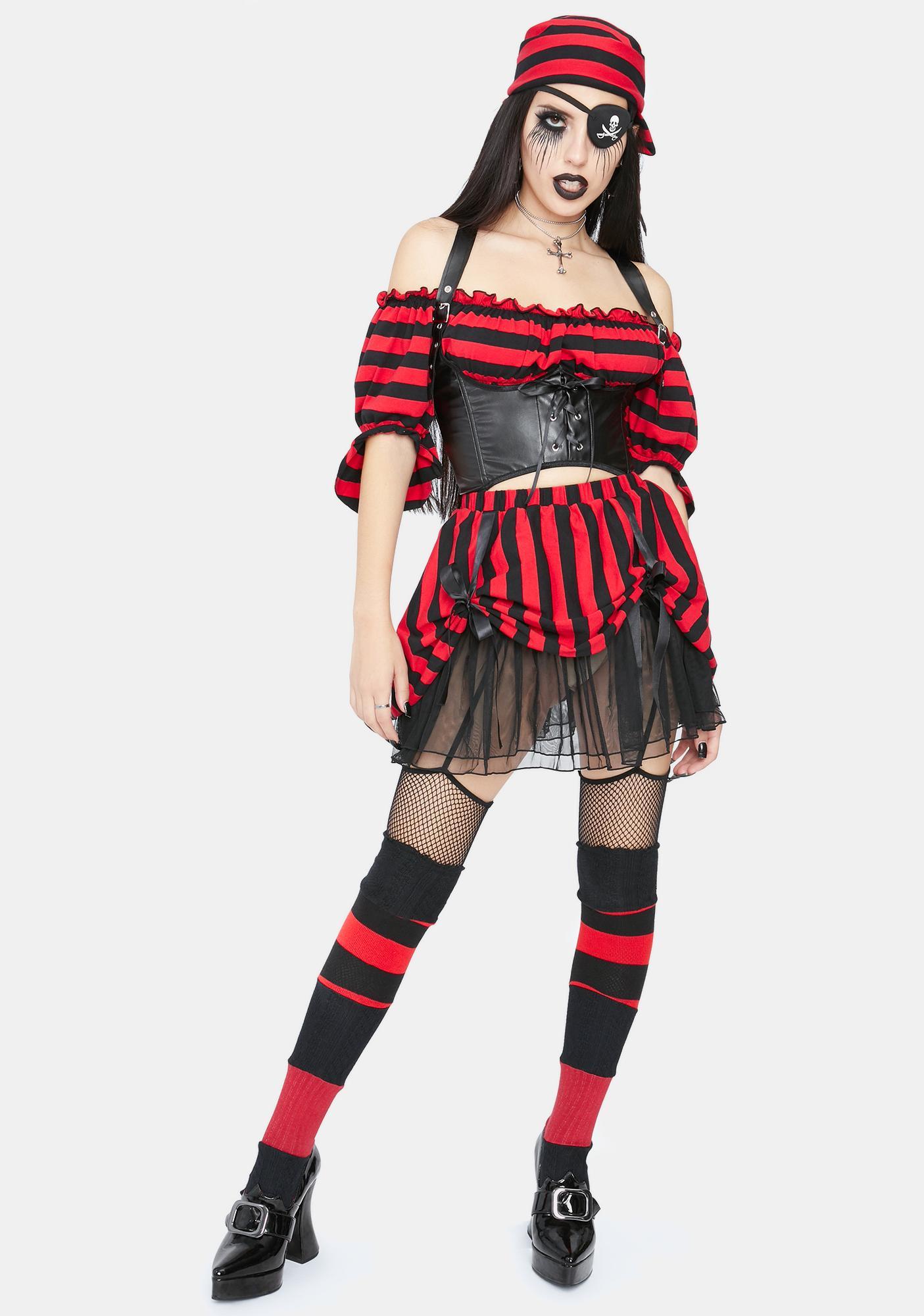 Trickz N' Treatz Shiver Me Timbers Pirate Costume