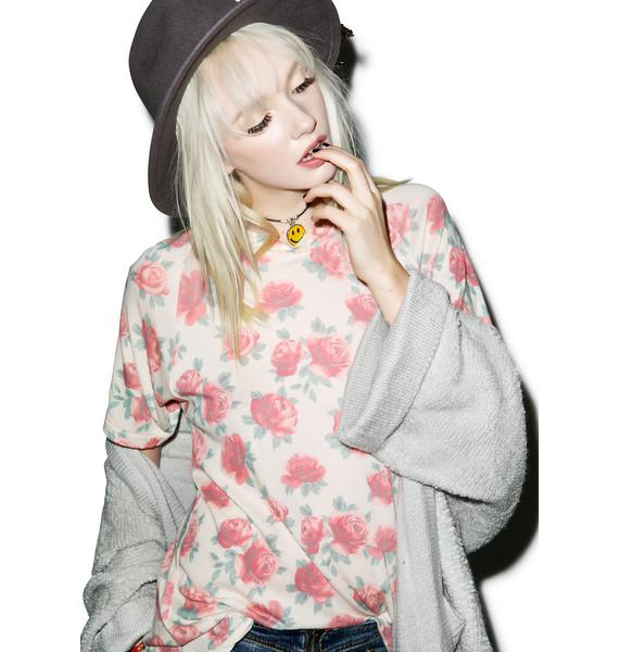 Wildfox Couture Gypsy Roses Perfect Tee