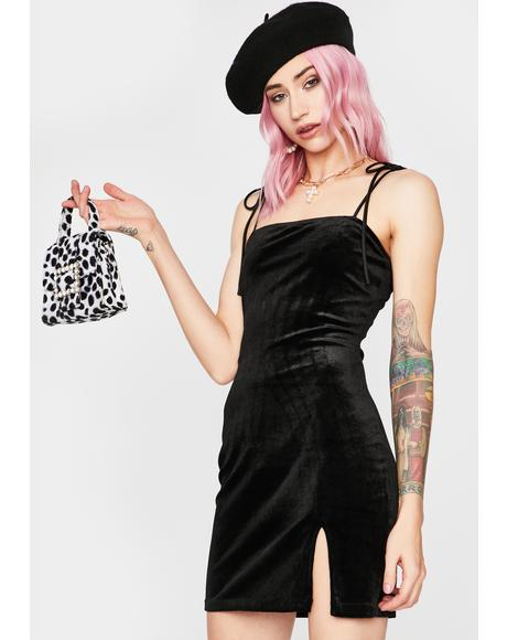 Sassy Society Velour Dress