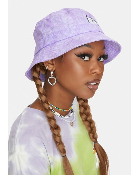 Purple Lord Nermal Bucket Hat