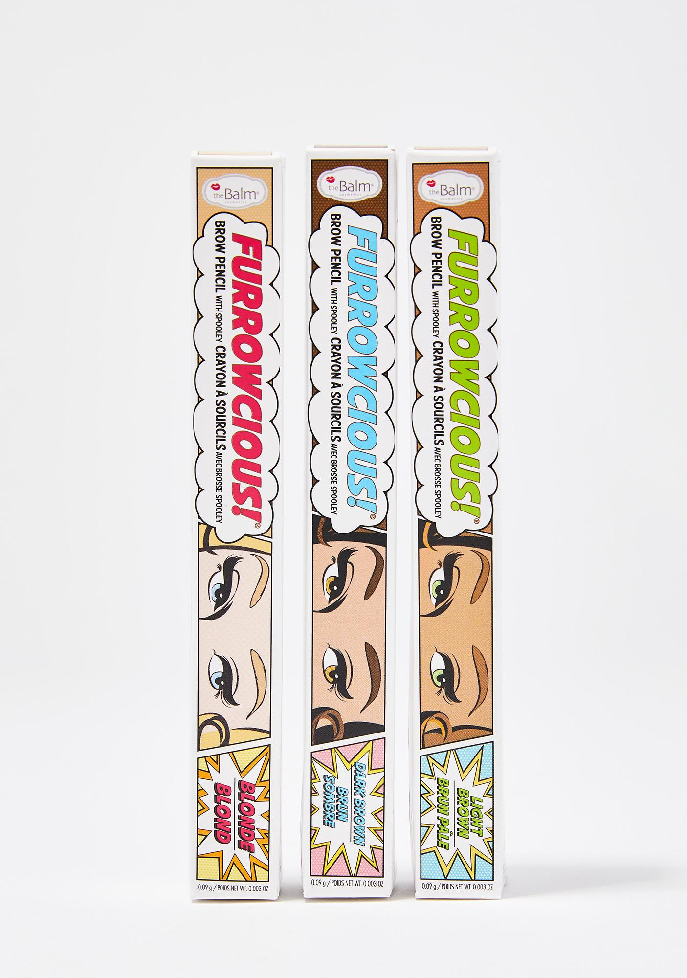 The Balm Blonde Furrowcious Brow Pencil With Spooley