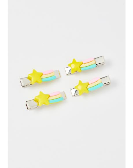 Love's Light Hair Clips