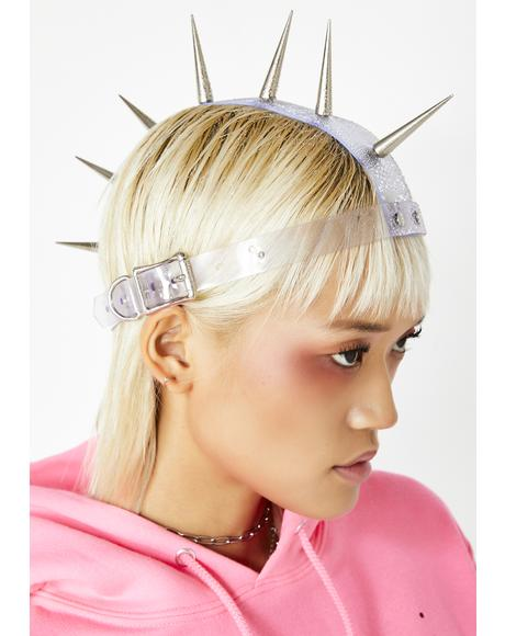 Baddie Reputation Spike Headpiece