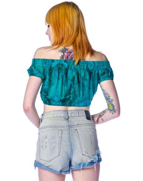 Emerald Rose Gypsy Bodice