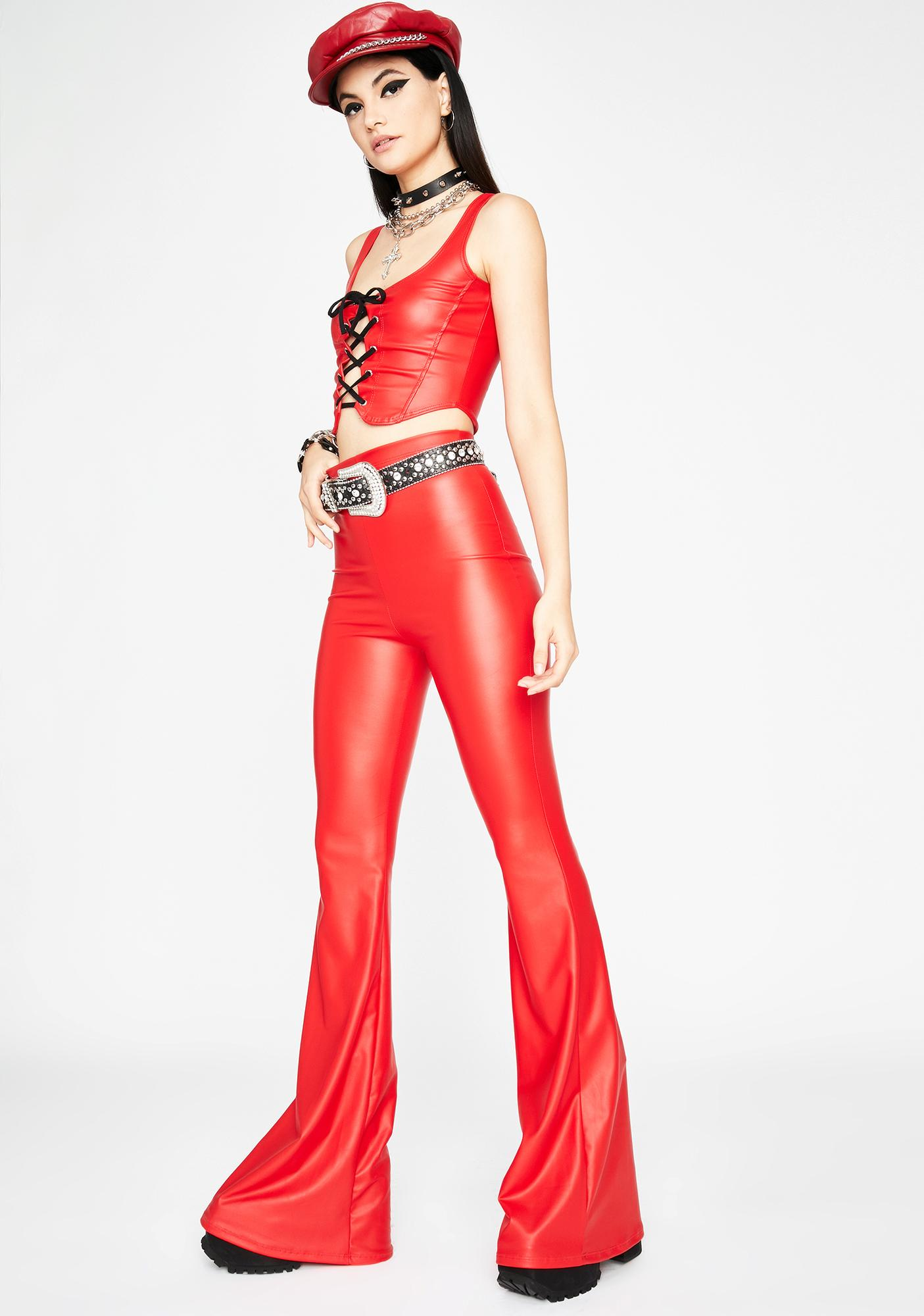Hot Pain Playa Leather Pants