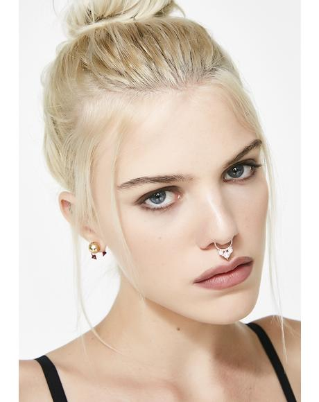 Hidden Gem Septum Ring