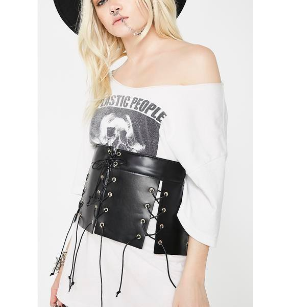 Get Waisted Lace-Up Belt