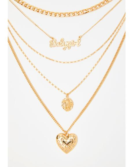 My Name Is Bae Layered Necklace