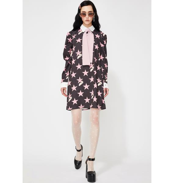 Sister Jane Hollywood Rabbit Mini Dress
