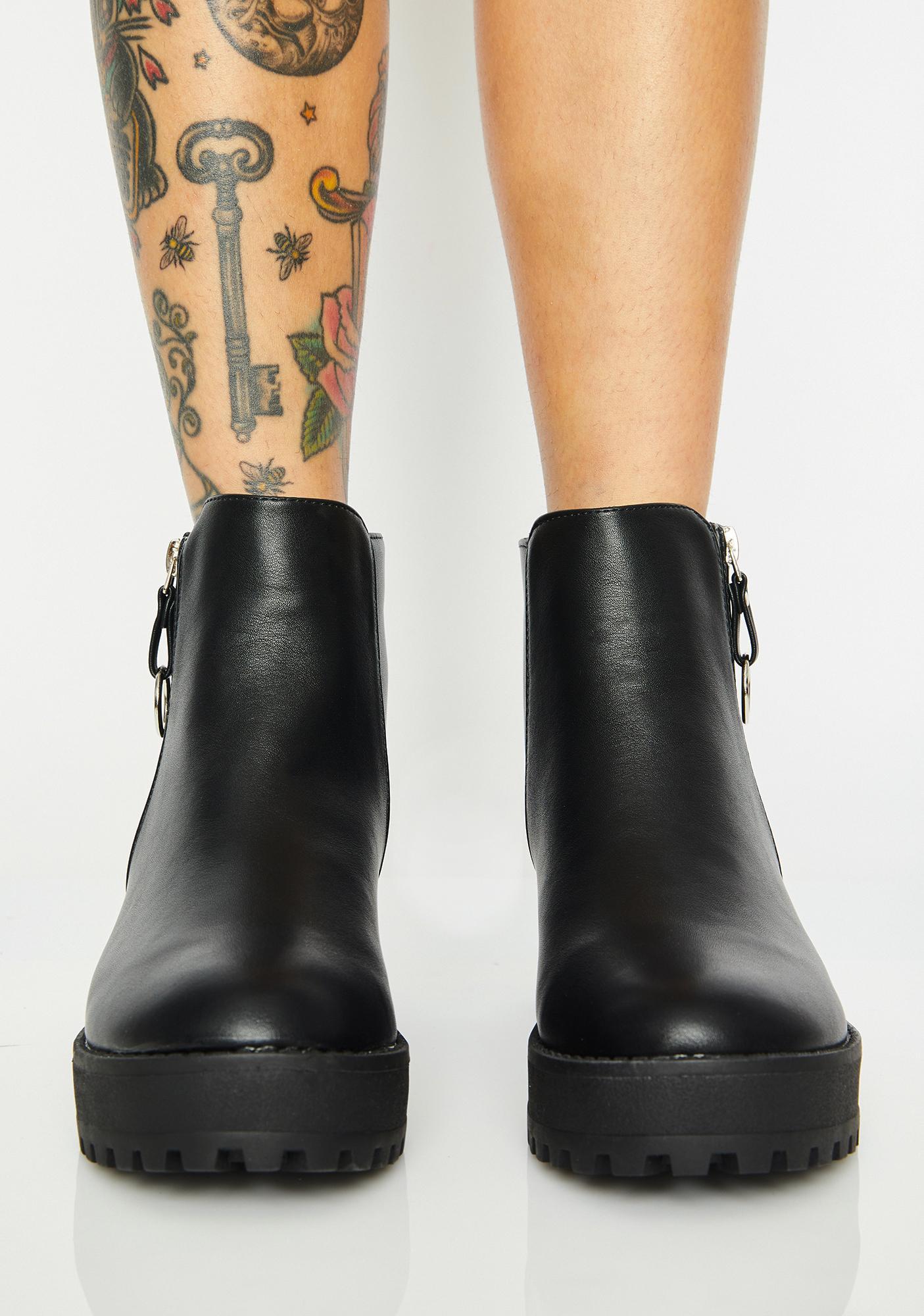 Sky Scraper Chelsea Boots