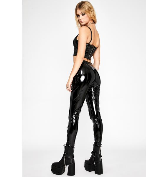 Fierce Fix Lace Up Pants
