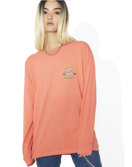 I'm So Faded Salvage Long Sleeve Tee
