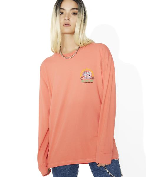 Obey I'm So Faded Salvage Long Sleeve Tee