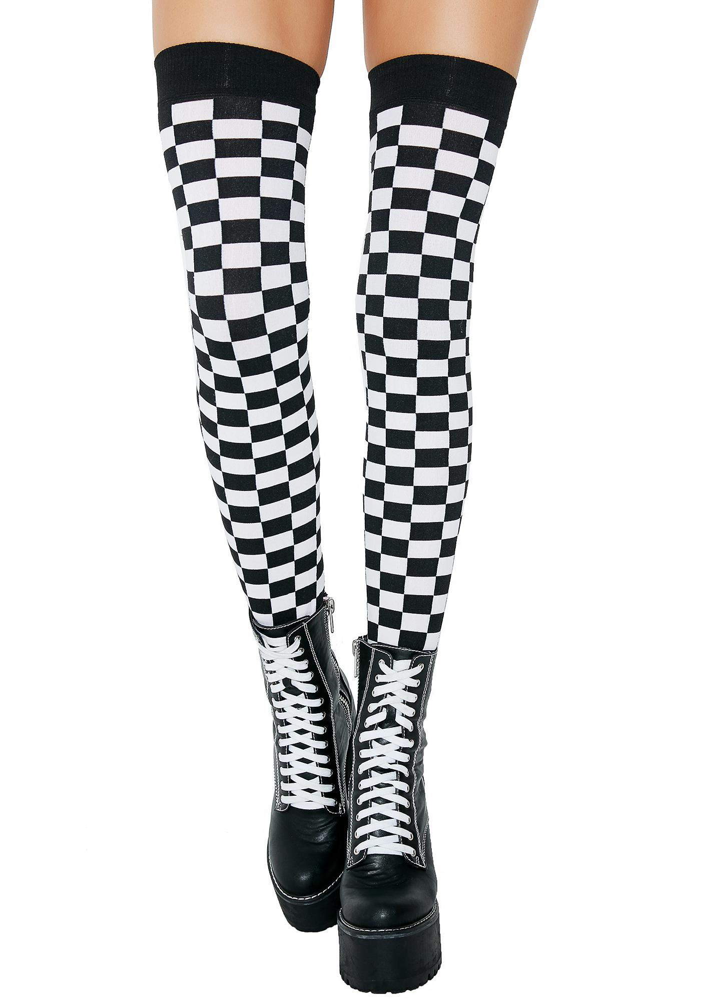 Speed Racer Thigh Highs