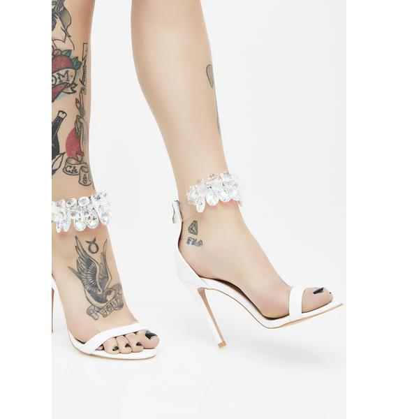 Public Desire Galaxy Crystal Ankle Strap Barely There