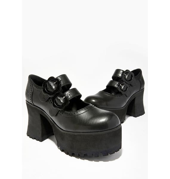 dELiA*s by Dolls Kill Angel In Disguise Platform Mary-Janes