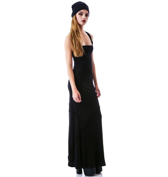 Widow Every Day is Like Sunday Maxi Dress