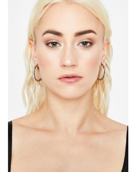Trendy Kween Hoop Earrings