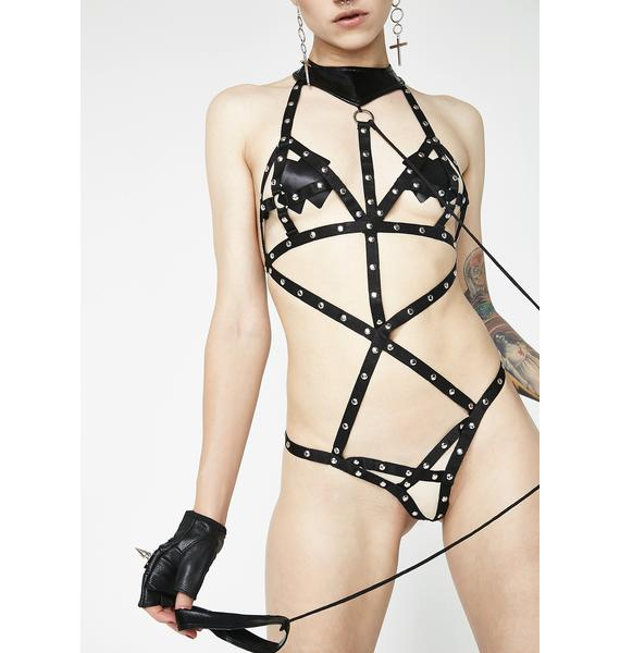 Take The Lead Strappy Bodysuit