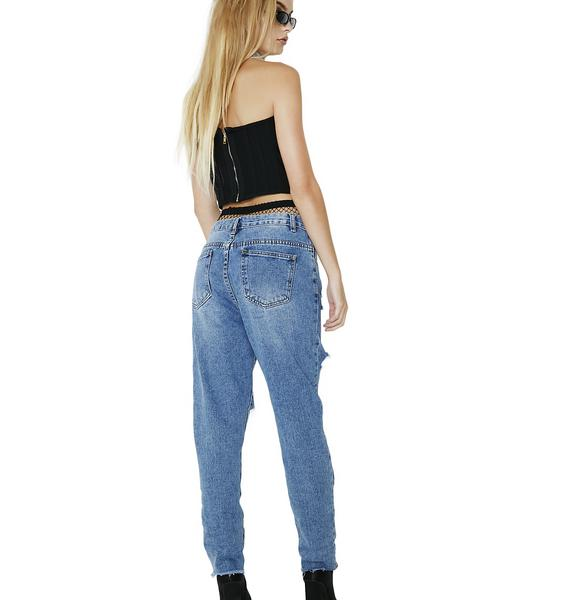 Runaway Renegade Distressed Jeans