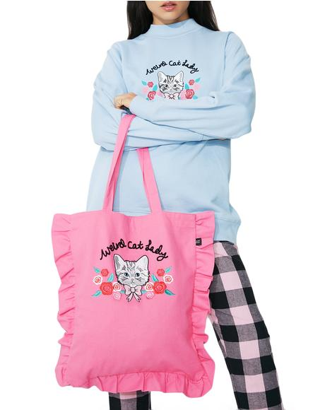 Weird Cat Lady Tote