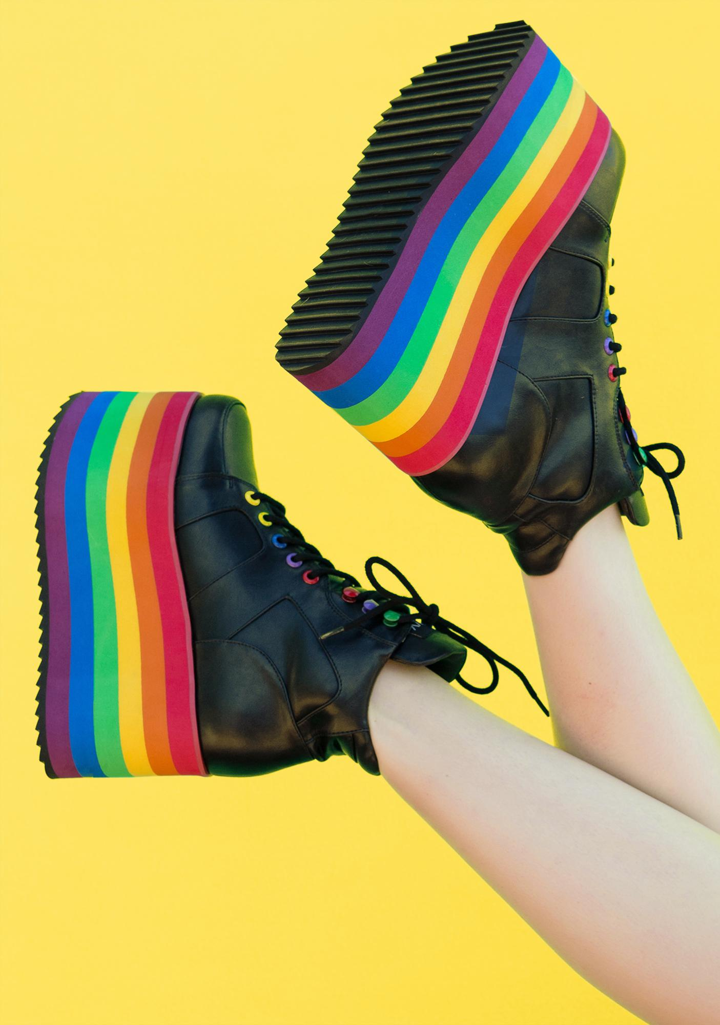 Club Exx True Colors Platform Sneakers