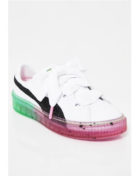 x Sophia Webster Platform Candy Princess Sneakers
