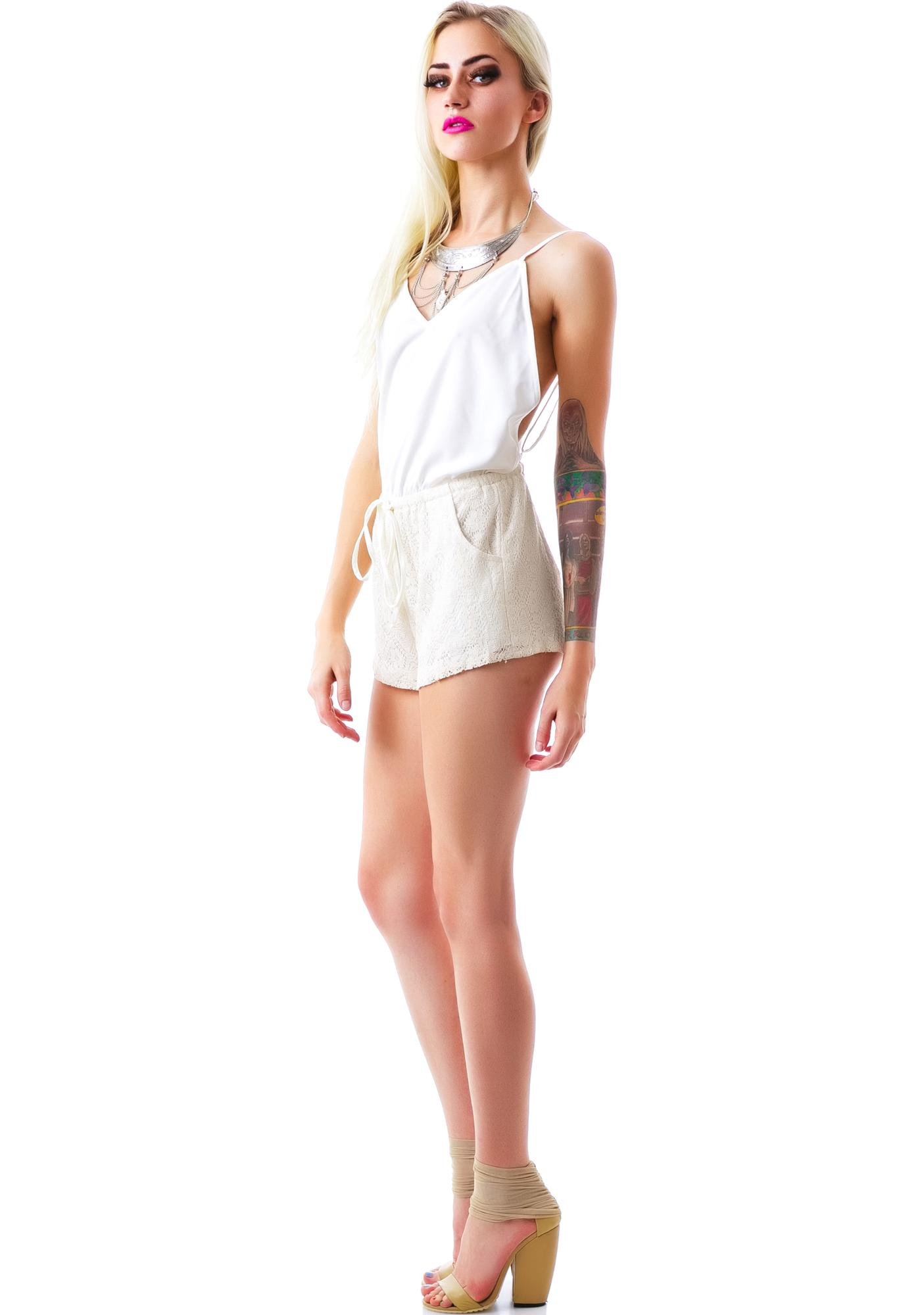 Haight Street Open Back Romper