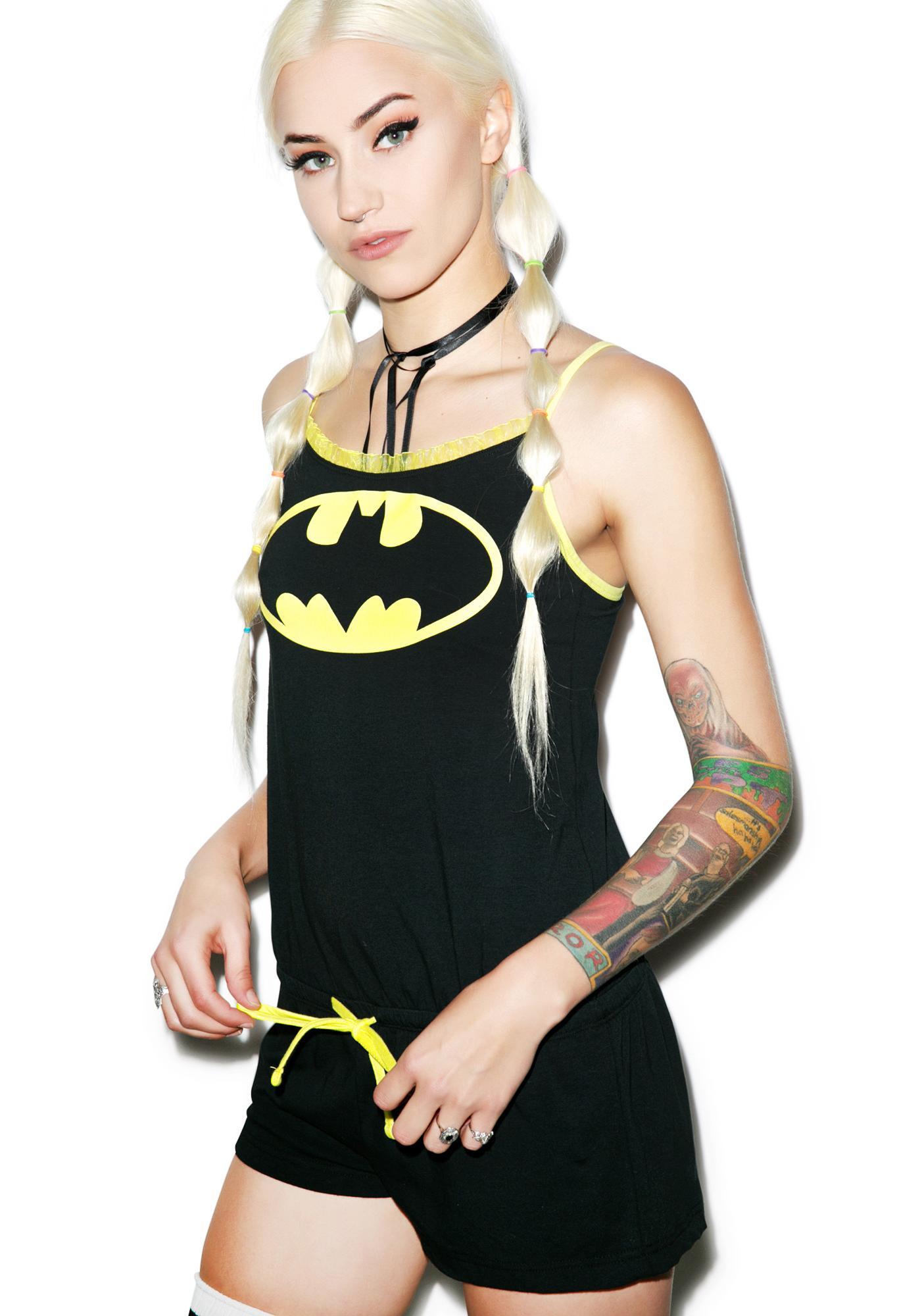 Undergirl Batman Romper