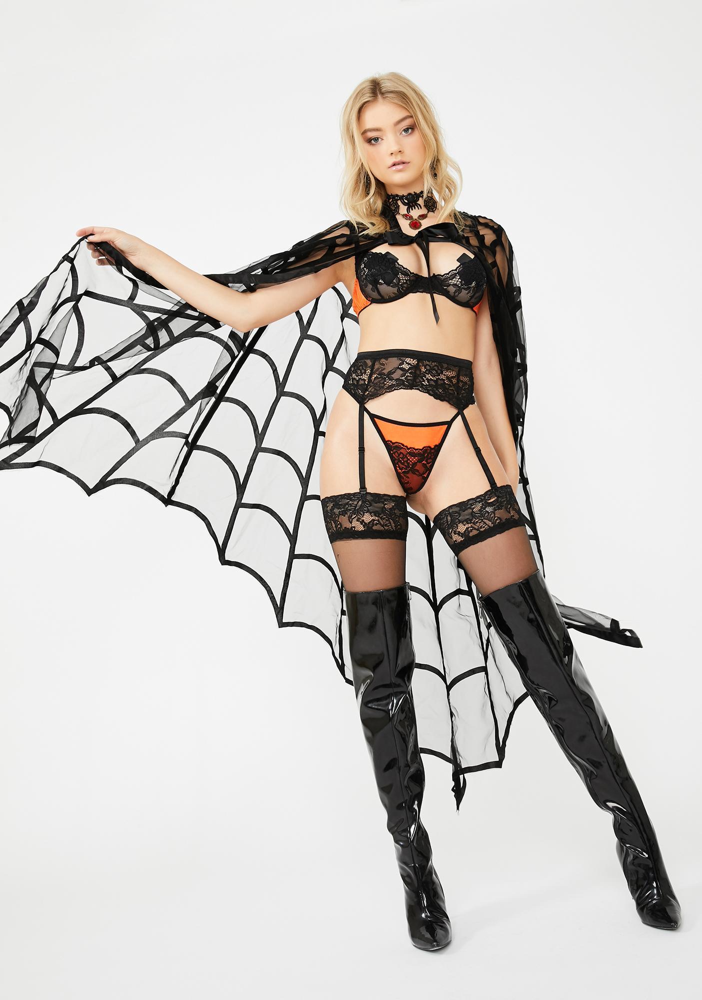 Phantom Mistress Lace Set